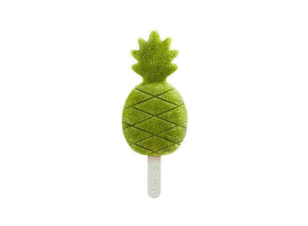 Žali ananasiniai ledai